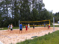 Foto-Beachvolleyballfeld tn
